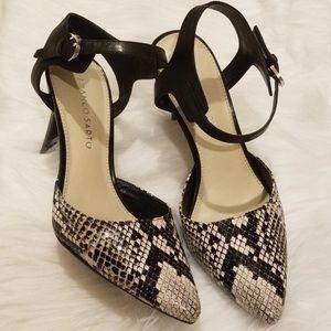 Franco Sarto Snake print Heels!!